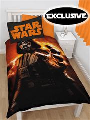 Star Wars Otroška posteljnina Star Wars Darth Vader rise