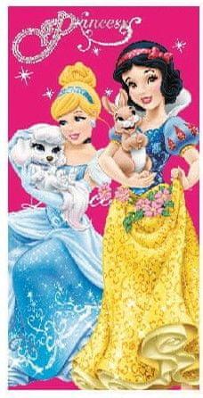 Disney Otroška brisača Disney Princess Pets