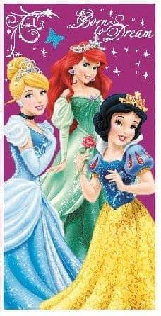 Disney Otroška brisača Disney Princess Born to Dream