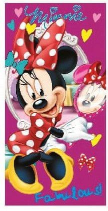 Disney Otroška brisača Minnie Mouse Fabulous