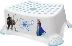 OKT Stupienok k umývadlu a WC Frozen, Biela