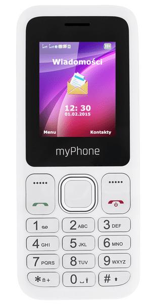 myPhone 3300, bílý