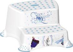 OKT Dvojstupínek k umyvadlu a WC Frozen, Bílá