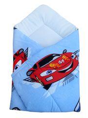 COSING spalna vreča 80 x 80 cm - Avtomobili, modra