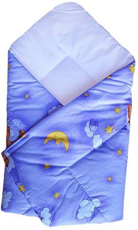 COSING spalna vreča 80 x 80 cm - Medvedek, vijolična
