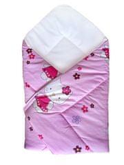 COSING Zavinovačka 80x80 cm - Hello Kitty,  ružová