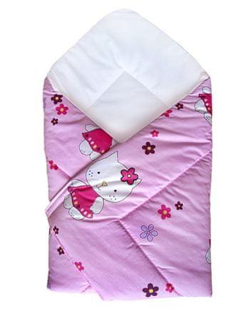 COSING Zavinovačka 80x80 cm - Hello Kitty růžová