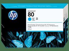 HP kartuša 80, cyan (C4846A)