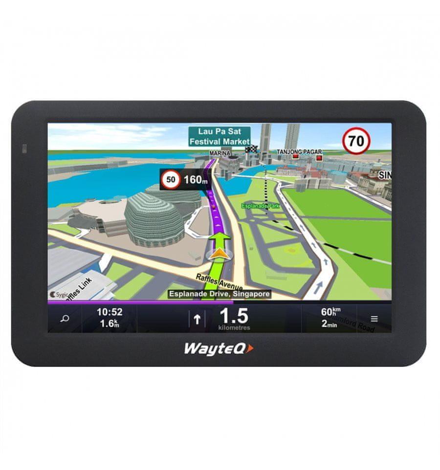 sygic drive európa térkép WAYTEQ x995 Android GPS navigáció + Sygic 3D Európa térkép | MALL.HU sygic drive európa térkép