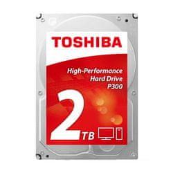 Toshiba trdi disk P300 3.5, 2 TB, 7200rpm, 64MB, SATAIII