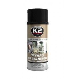 K2 čistilo za vplinjače, 400 ml