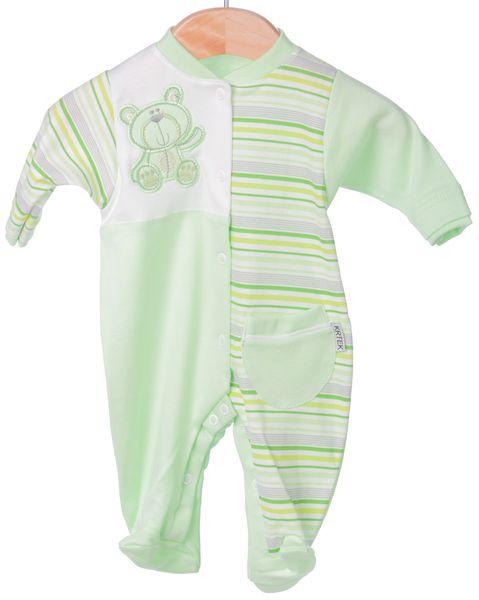 Krtek kojenecké dupačky 86 zelená