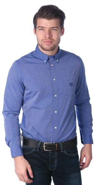 Chaps pánská bavlněná košile XL modrá