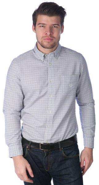 Chaps pánská kostičkovaná košile L bílá