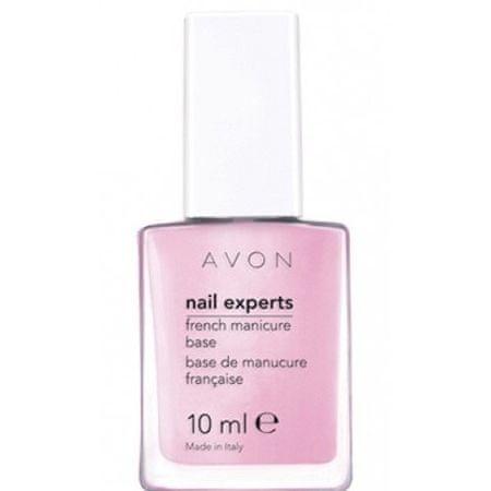 Avon Podkladový lak na francouzskou manikúru Nail Experts 10 ml Pastel Pink