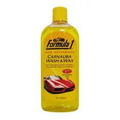 FORMULA vosek Carnauba wash & wax, 473 ml