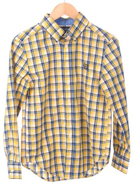 Chaps chlapecká košile 116-122 žlutá