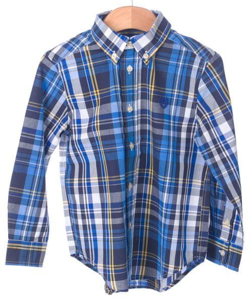 Chaps chlapecká košile 164-170 modrá