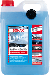 Sonax tekočina za vetrobransko steklo -20°C,