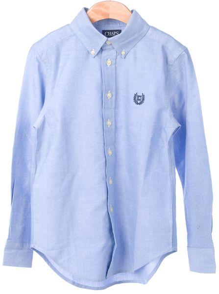 Chaps chlapecká košile 98-104 modrá