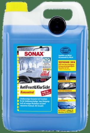 Sonax tekočina za vetrobransko steklo koncentrat, 5L