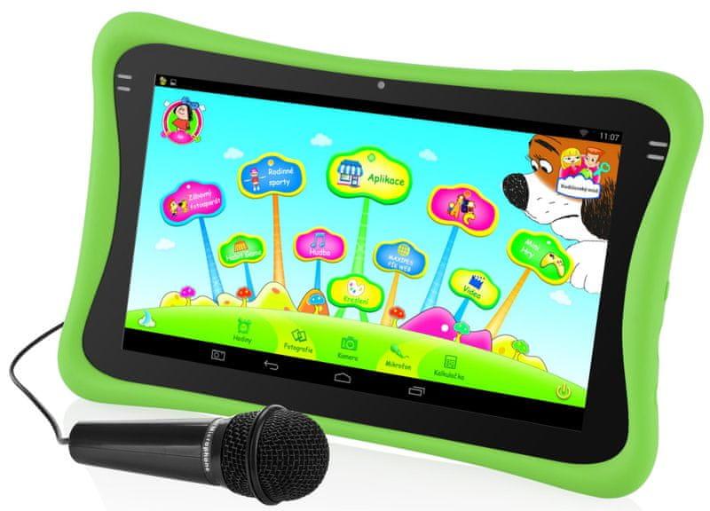 GoGEN Dětský tablet MAXPAD9G3 zelená