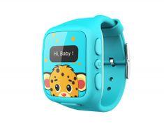 intelioWATCH Dětské GPS hodinky s telefonem, modrá
