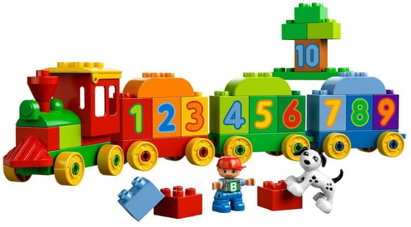 LEGO® DUPLO 10558 Vláček plný čísel