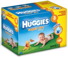 Huggies Pieluszki Super Dry Midi 3 Big Pack - 82 szt.