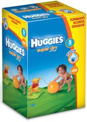 Huggies Pieluszki Super Dry Junior 5 Giga Box - 132 szt.