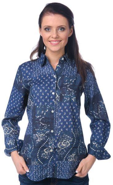 Chaps dámská košile L modrá