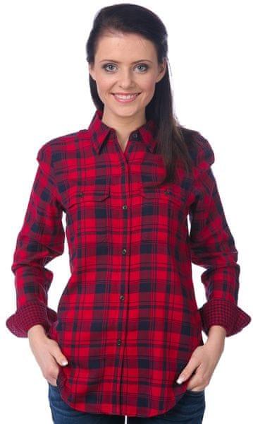 Chaps dámská kostkovaná košile L červená