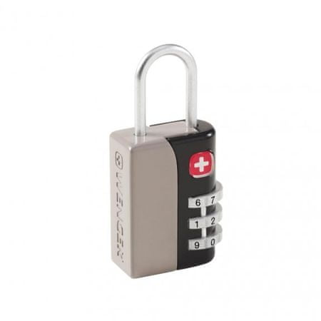 Wenger kombinacijska ključavnica WE6035GY, 3 števila siva