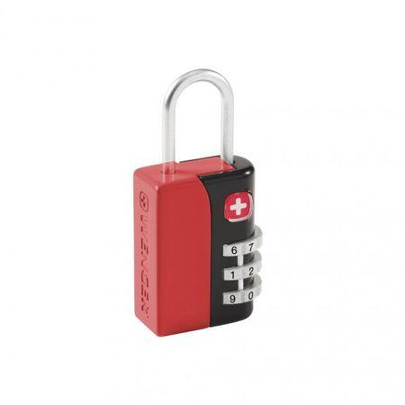 Wenger kombinacijska ključavnica WE6035GY, 3 števila rdeča