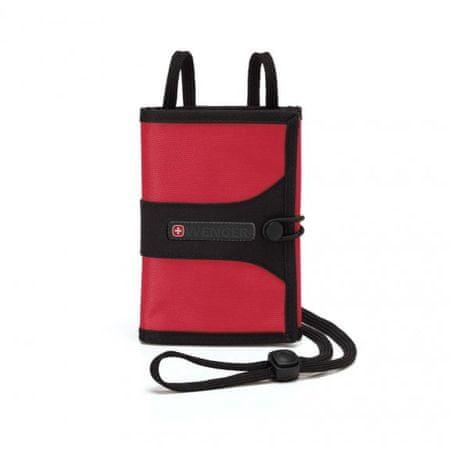 Wenger potovalna denarnica WE6077RE, rdeča