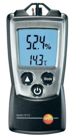 Merilnik vlage in temperature Testo 610