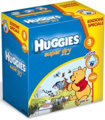Huggies Pieluszki Super Dry Midi 3 Big Pack - 120 szt.