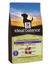 Hill's Ideal Balance Canine Mature Adult s čerstvým kuřetem a hnědou rýží 2 kg