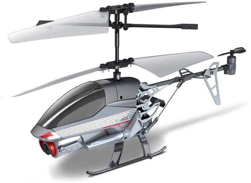 Silverlit R/C helikoptéra 2,4GHz Spy Cam II (s kamerou)