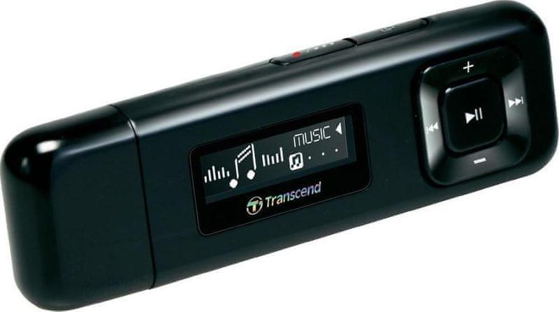 Transcend MP330K / 8 GB, černá