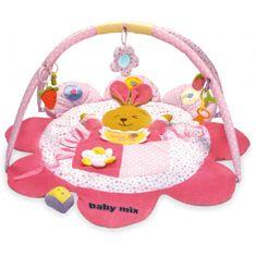 Baby Mix Mata edukacyjna Króliczek