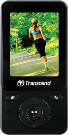 Transcend MP3 player MP710, crni