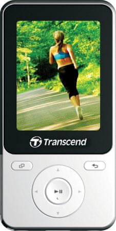 Transcend MP710W / 8 GB, bílá
