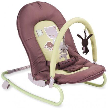 Baby Mix Leżaczek niemowlęcy Miś
