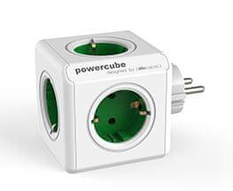 Allocacoc PowerCube razdelilec Original, zelen