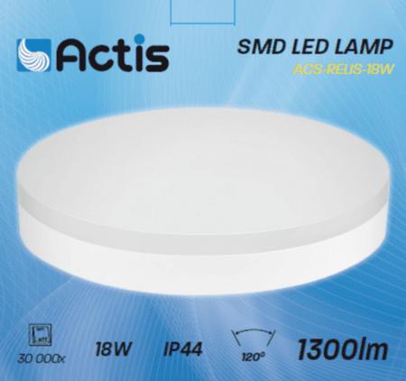 Actis LED plafoniera, 18 W, 1300 lm