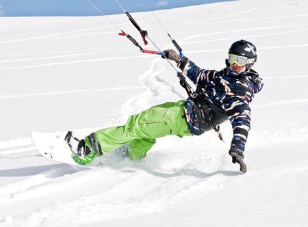 Poukaz Allegria - kurz snowkitingu Praha