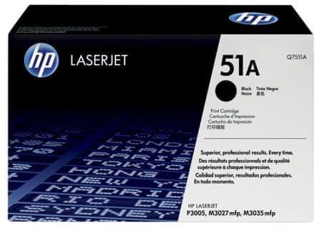 HP toner Q7551A, črn, 6.500 strani