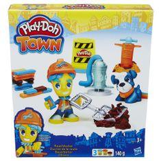Play-Doh Town Cestný pracovník s miláčikom