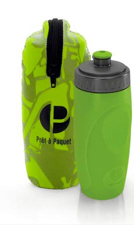 Prêt à Paquet steklenička z etuijem, 0,5 l, zelena